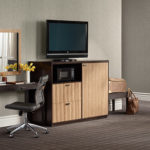 Guest room media console