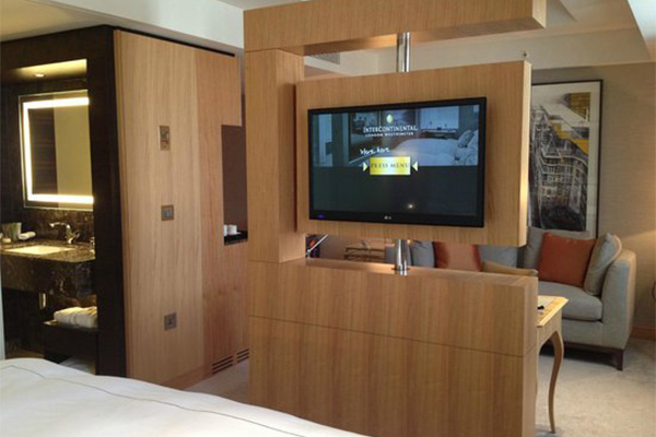 hotel guest room tv unit made in turkey 1