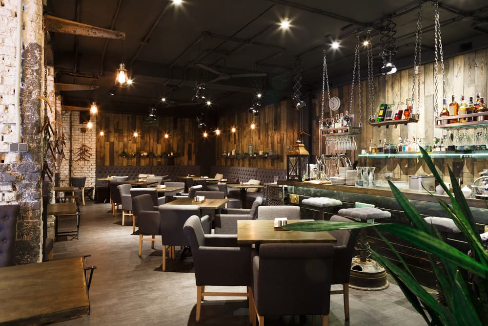building a unique atmosphere in restaurant