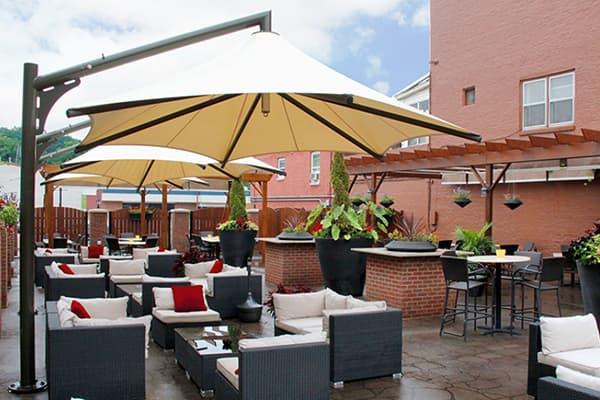 commercial patio umbrella made in turkey