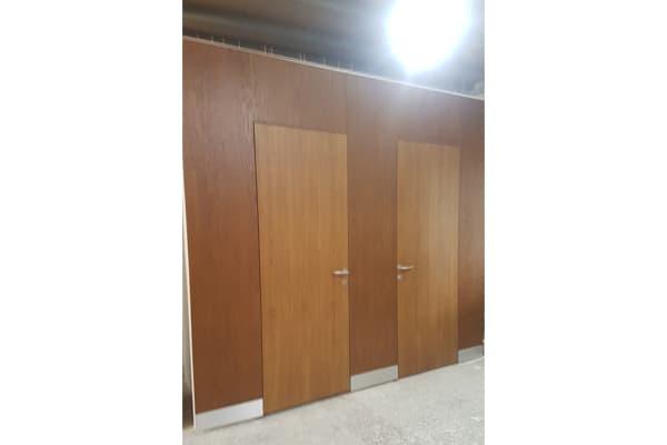 door mock up sample