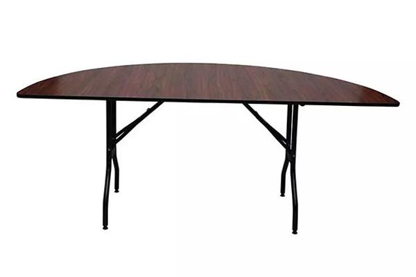 Half Circular Folding Banquet Table Made in Turkey