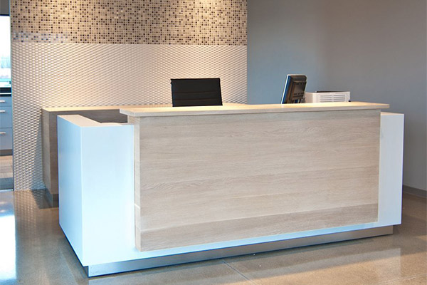Commercial office reception welcome desk made in turkey 2
