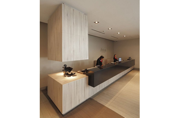 Commercial office reception welcome desk made in turkey 6