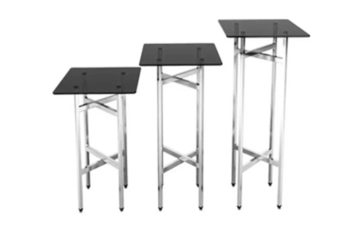 E1-Banquet Buffet Table Tempered Top Made in Turkey