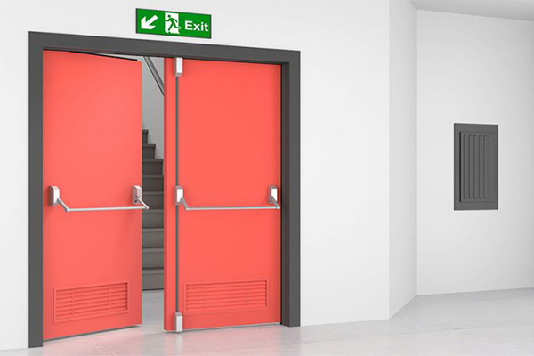 Fire exit doors made in Turkey 1