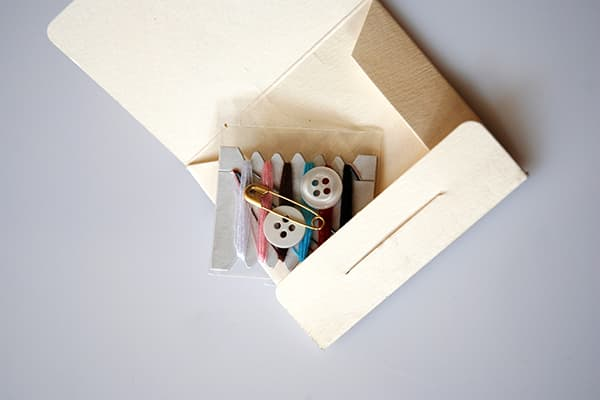 hotel sewing kit