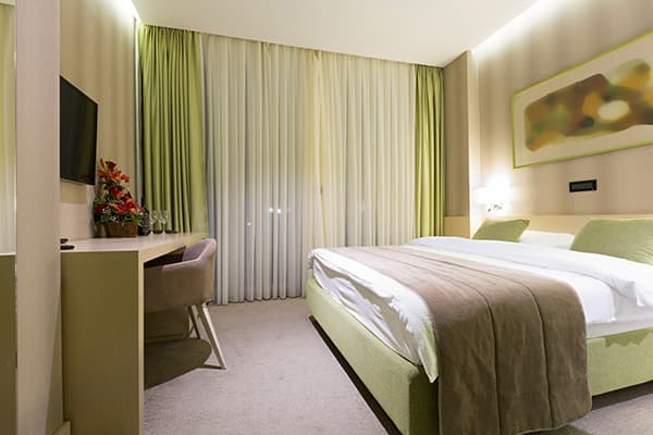Hotel Curtain In Turkey