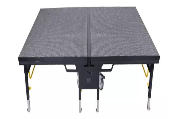 Heavy Duty Mobile Folding Banquet Stage made in turkey