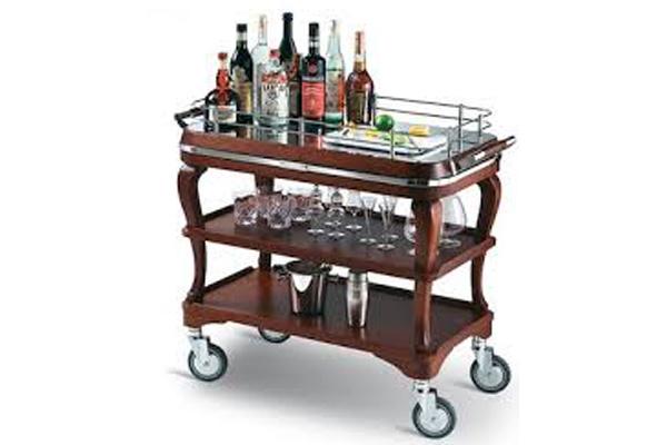 Restaurant cart made in Turkey 6