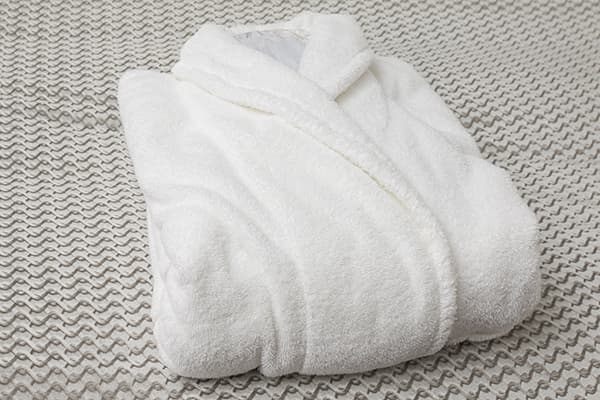 hotel bathrobe made in turkey