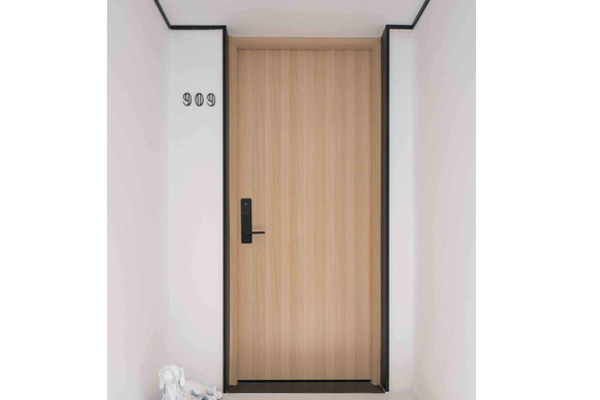 Wooden hotel doors made in Turkey 5