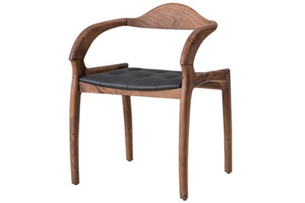 Wooden restaurant chair made in Turkey 1