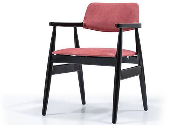 Wooden restaurant chair made in Turkey 2