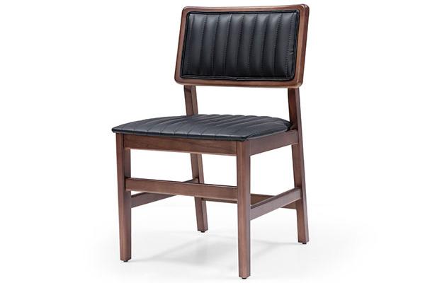 Wooden restaurant chair made in Turkey 3