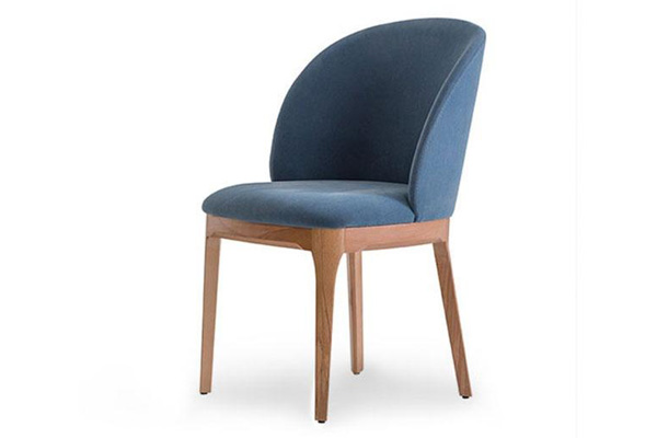 Wooden restaurant chair made in Turkey 4