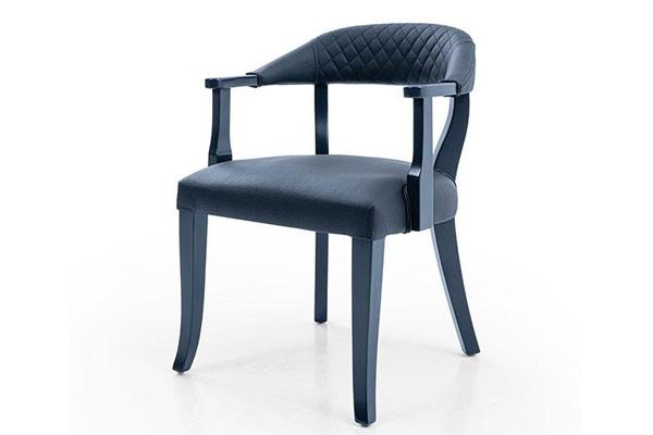 Wooden restaurant chair made in Turkey 6