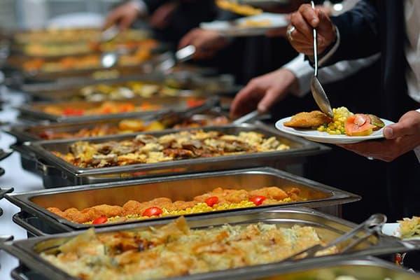 banquet buffet counter made in turkey