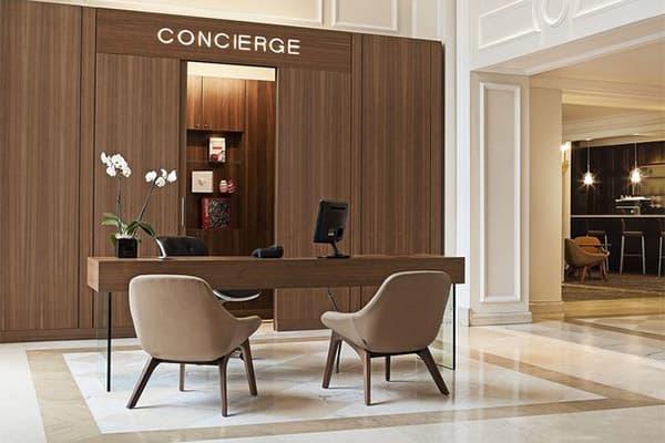 hotel concierge desk made in Turkey 0