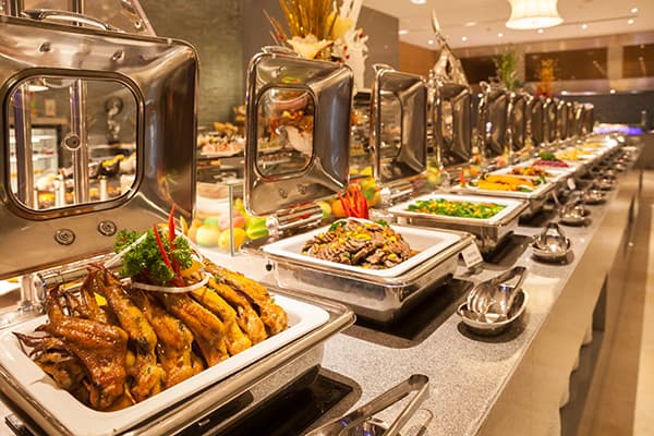 restaurant buffet made in turkey