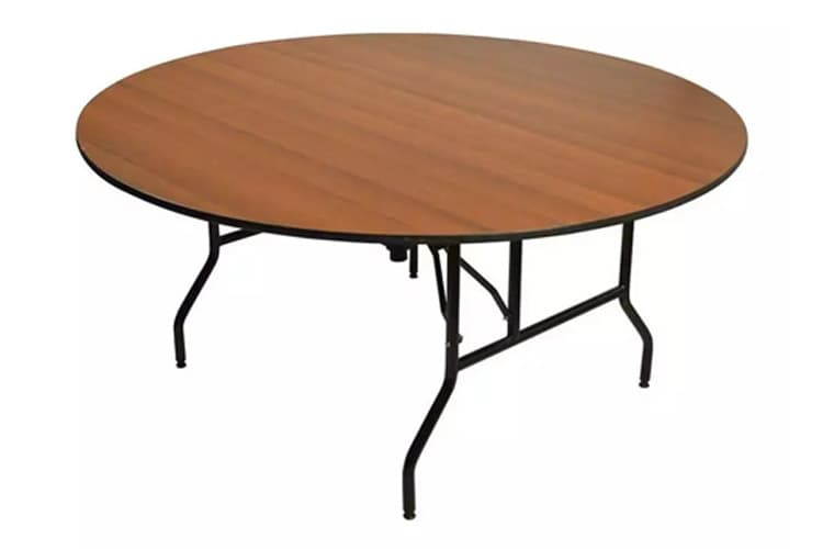 Folding Round Banquet Table Made in Turkey