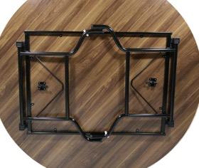 c frame underneath the table