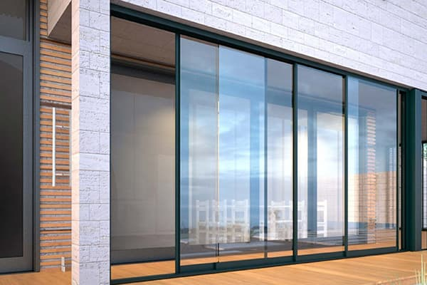 glass sliding wall made in turkey