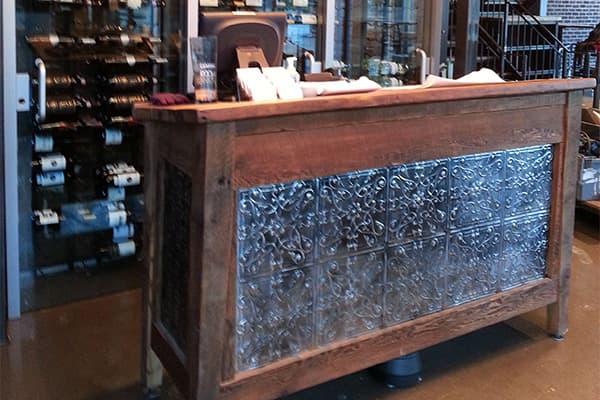 Restaurant welcome desk made in Turkey 4