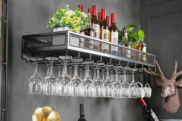 bar glass hanging rack made in Turkey 3
