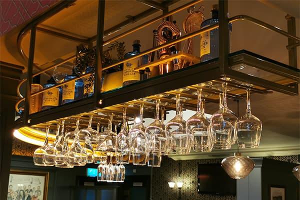 bar glass hanging rack made in Turkey 6