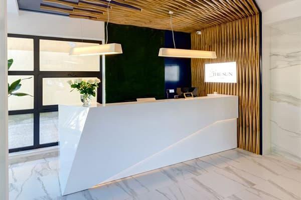 hotel reception desk made in Turkey 1