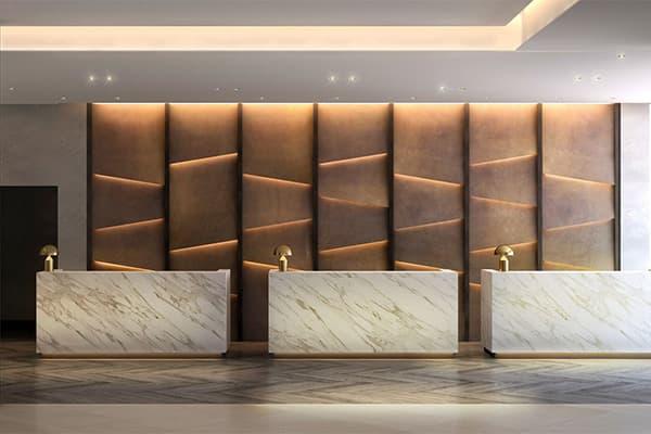 hotel reception desk made in Turkey 2