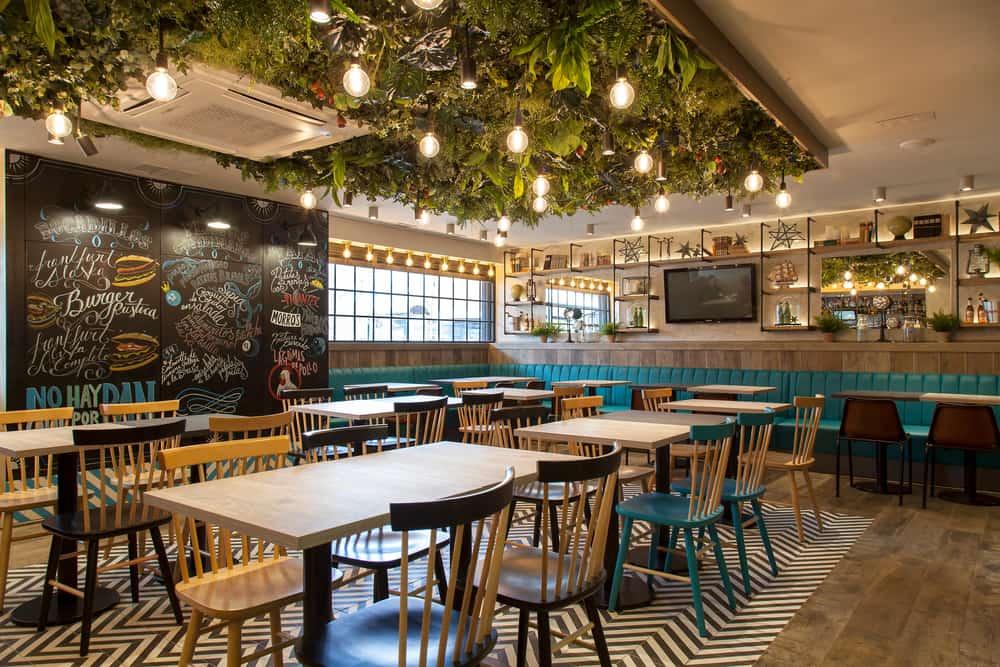 restaurant furniture made in turkey layout