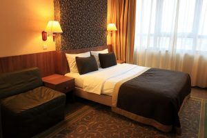 budget friendly hotel guest room design