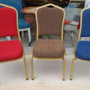 metal or aluminium banquet chair made in turkey