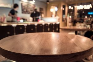 wooden restaurant tables made in turkey